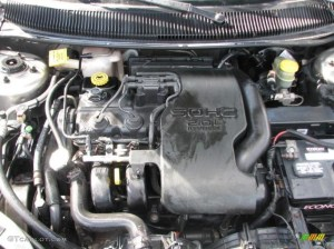 1999 Dodge Neon Highline Sedan 20 Liter SOHC 16Valve 4