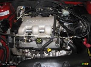 2001 Pontiac Grand Am GT Coupe 34 Liter OHV 12Valve V6