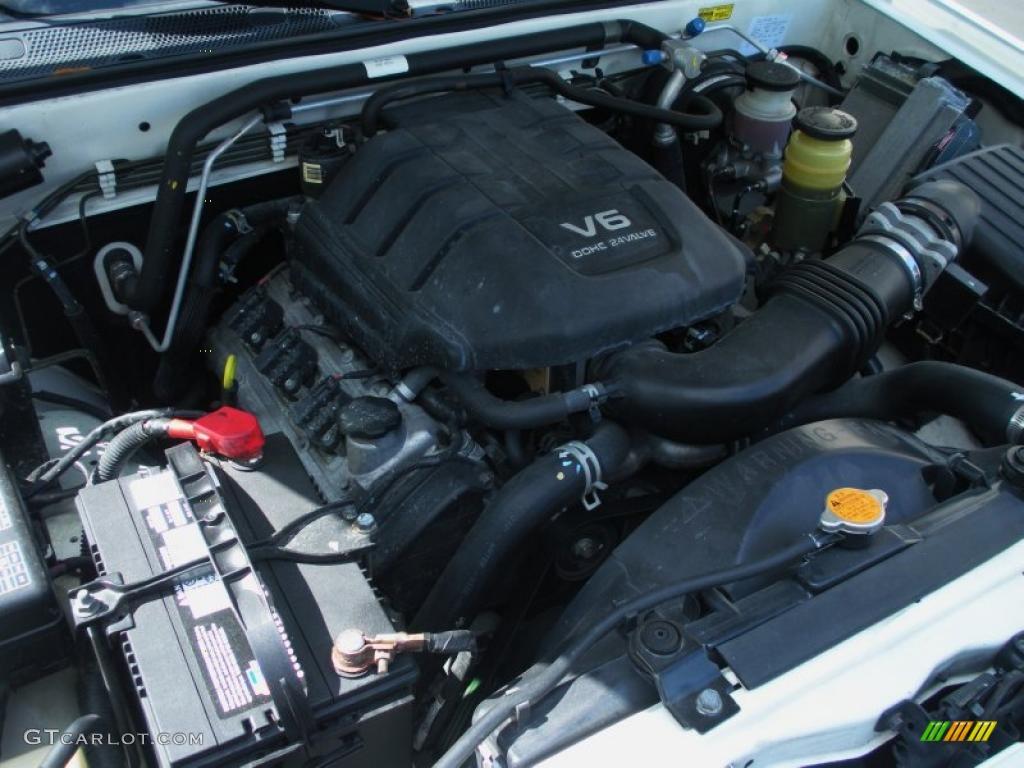 2002 Isuzu Rodeo Ls 3 2 Liter Dohc 24 Valve V6 Engine