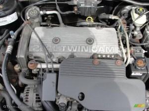 2000 Pontiac Sunfire GT Convertible 24 Liter DOHC 16