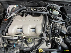 2000 Pontiac Grand Am GT Sedan 34 Liter OHV 12Valve V6