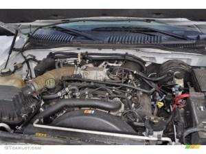 2004 Mercury Mountaineer V8 AWD 46 Liter SOHC 16 Valve V8