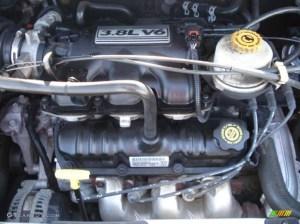 2003 Chrysler Town & Country LXi 38L OHV 12V V6 Engine
