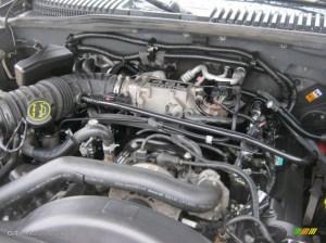2005 Ford Explorer Eddie Bauer 4x4 46 Liter SOHC 16Valve