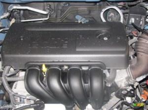 2005 Toyota Matrix XR AWD 18L DOHC 16V VVTi 4 Cylinder