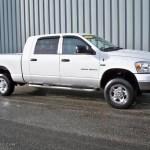 2007 Bright White Dodge Ram 1500 Slt Mega Cab 4x4 4892434 Gtcarlot Com Car Color Galleries