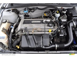 2002 Pontiac Sunfire SE Coupe 22 Liter DOHC 16Valve 4