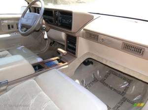 Removing cadillac seville dashboard