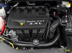 2011 Chrysler 200 Limited 24 Liter DOHC 16Valve Dual VVT