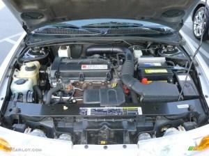 2001 Saturn S Series SL2 Sedan 19 Liter DOHC 16Valve 4