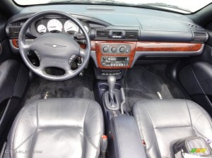 2002 Chrysler Sebring Limited Convertible Deep Royal Blue