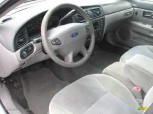 Medium Graphite Interior 2000 Ford Taurus SES Photo