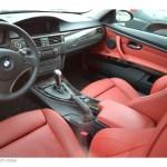 Coral Red Black Dakota Leather Interior 2009 Bmw 3 Series 335i Coupe Photo 56155334 Gtcarlot Com