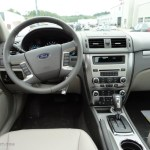 2012 White Suede Ford Fusion Sel 57271278 Photo 13 Gtcarlot Com Car Color Galleries