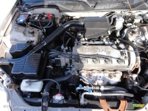 2000 Honda Civic LX Sedan 16 Liter SOHC 16Valve 4