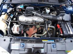 2002 Chevrolet Cavalier LS Coupe Engine Photos   GTCarLot