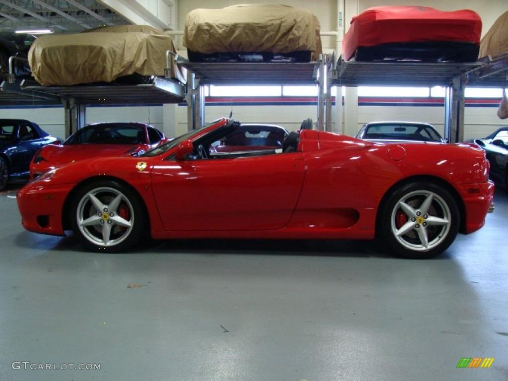 Red 2003 Ferrari 360 Spider F1 Exterior Photo 58879557