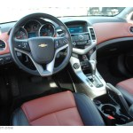 Jet Black Brick Leather Interior 2011 Chevrolet Cruze Lt Photo 59704838 Gtcarlot Com