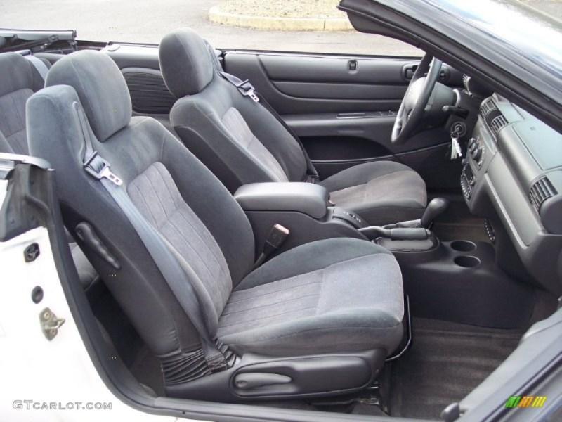 2004 chrysler sebring convertible interior. Black Bedroom Furniture Sets. Home Design Ideas