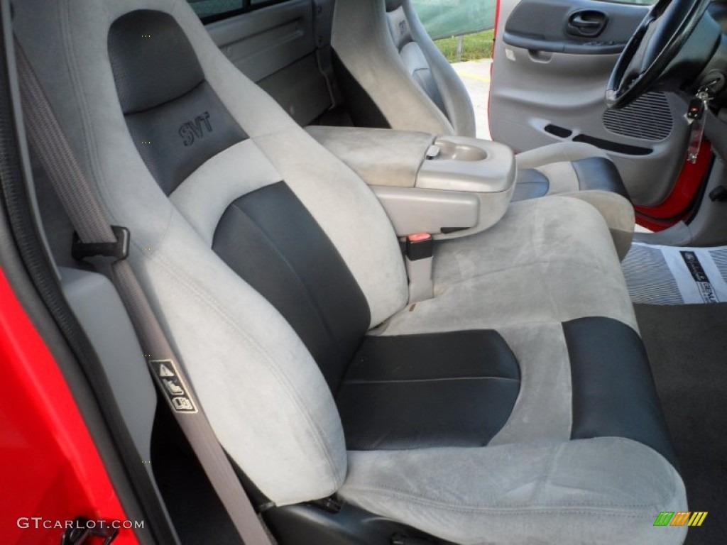 Lightning GraphiteBlack Interior 2001 Ford F150 SVT