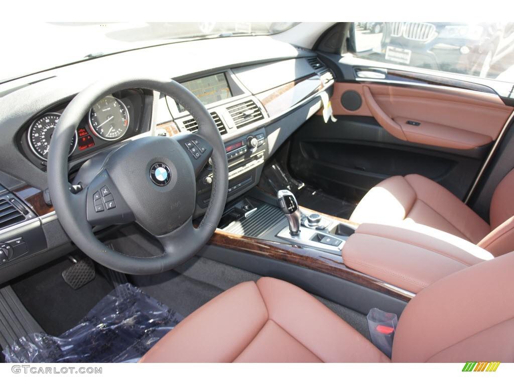 Cinnamon Brown Interior 2013 BMW X5 xDrive 35i Premium Photo #67307157