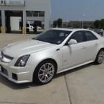 2012 White Diamond Tricoat Cadillac Cts V Sedan 67429914 Gtcarlot Com Car Color Galleries