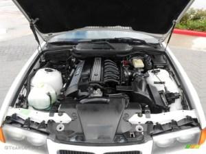 1996 BMW 3 Series 328i Convertible Engine Photos