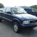 2002 Indigo Blue Metallic Gmc Sonoma Sls Extended Cab 4x4 70818514 Gtcarlot Com Car Color Galleries