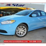 2013 Laguna Blue Dodge Dart Sxt 74684443 Gtcarlot Com Car Color Galleries