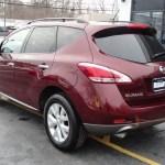 2011 Merlot Nissan Murano Sl Awd 76018158 Photo 7 Gtcarlot Com Car Color Galleries