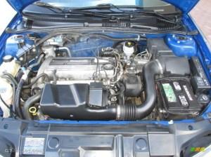 2004 Chevrolet Cavalier LS Coupe 22 Liter DOHC 16Valve 4