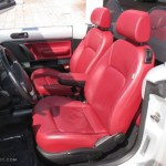Blush Red Leather Interior 2009 Volkswagen New Beetle 2 5 Blush Edition Convertible Photo 78166638 Gtcarlot Com