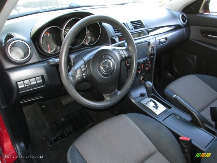 2004 Mazda 3 Hatchback Interior