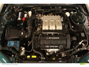 1995 Mitsubishi 3000GT Coupe Engine Photos | GTCarLot