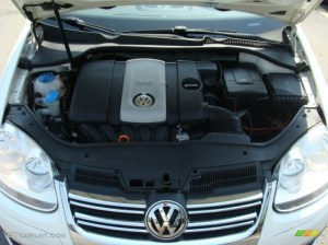 2007 Volkswagen Jetta Wolfsburg Edition Sedan Engine