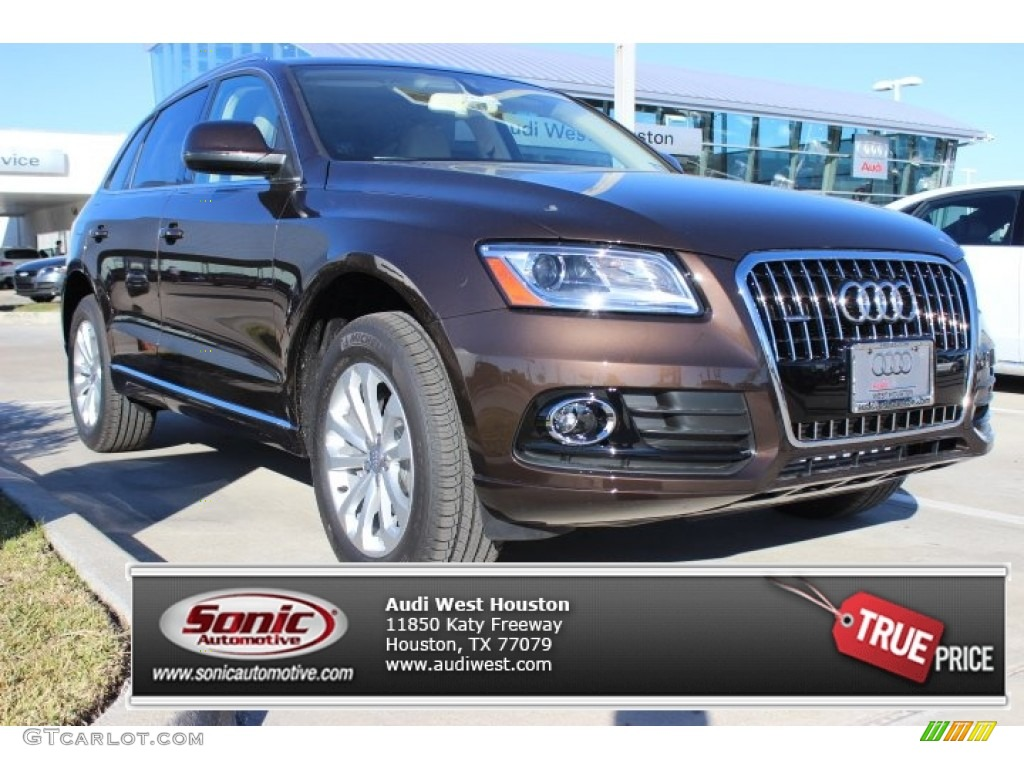 2014 Teak Brown Metallic Audi Q5 20 TFSI Quattro