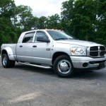 2007 Bright Silver Metallic Dodge Ram 3500 Slt Mega Cab Dually 9631179 Gtcarlot Com Car Color Galleries