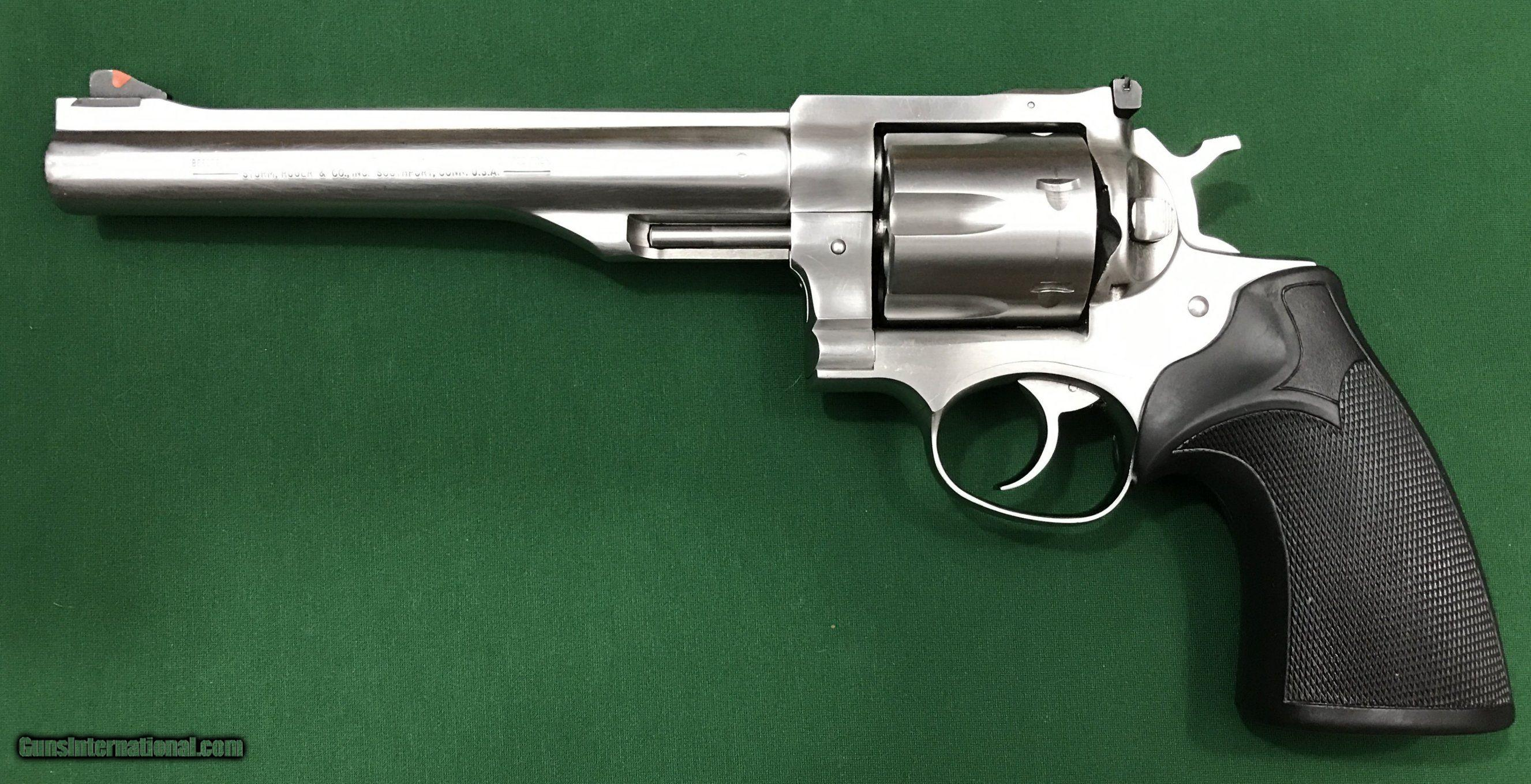 Ruger Redhawk 44 Magnum Stainless Steel Single Action