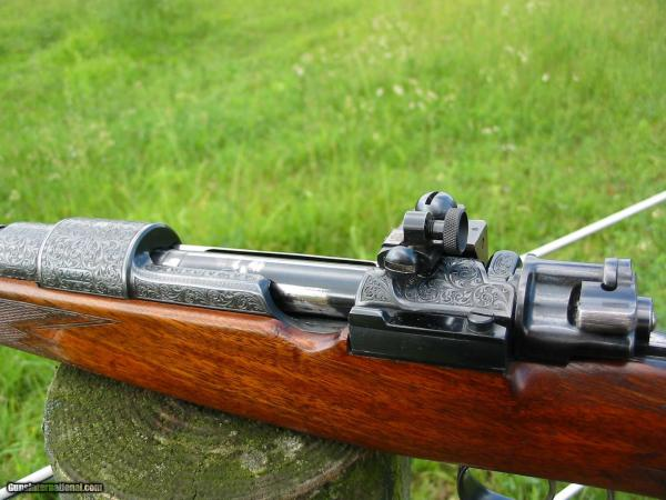 Waffen Frankonia Wurzburg Highly Engraved Mauser 270