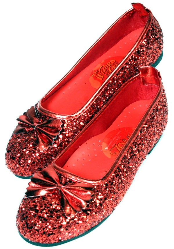 Dorothys Ruby Red Slippers - Dorothy Shoes