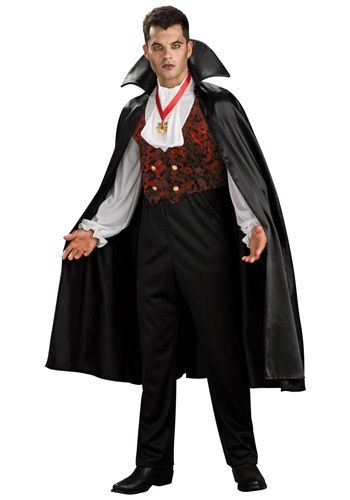 Adult Transylvania Vampire Costume Mens Count Dracula