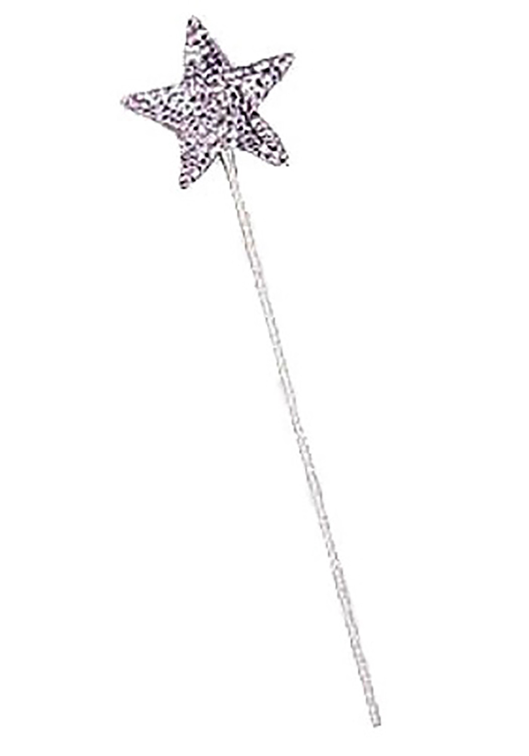 Magic Silver Witch Wand