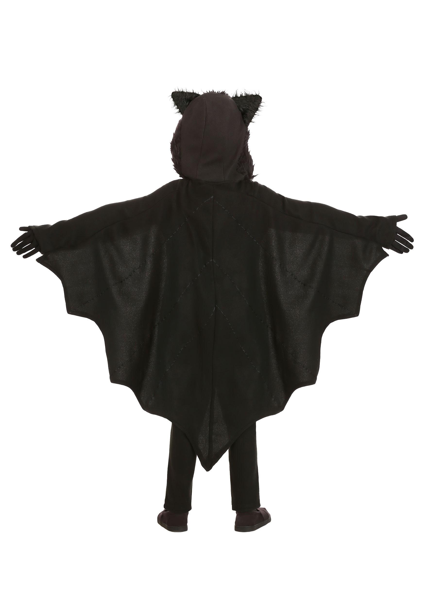 Fleece Bat Kids Costume