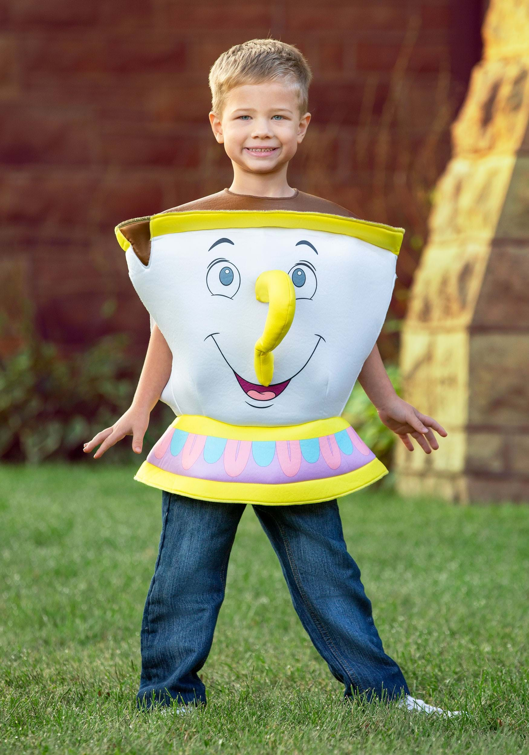 Chip Deluxe Toddler Costume From Beauty And The Beast