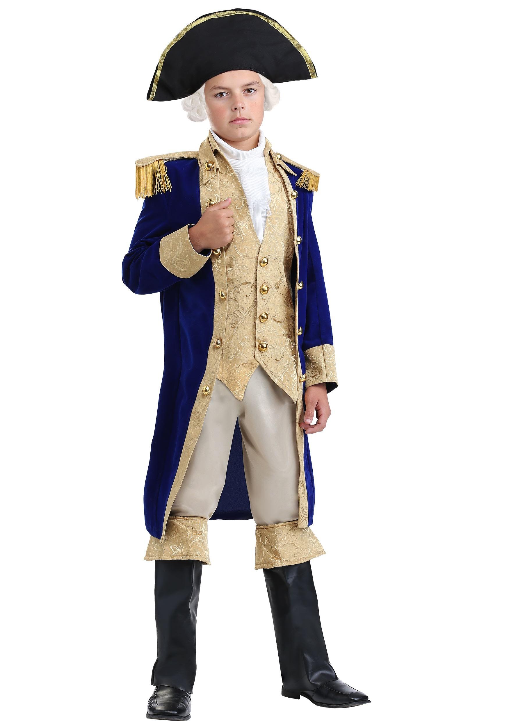George Washington Costume For Boys