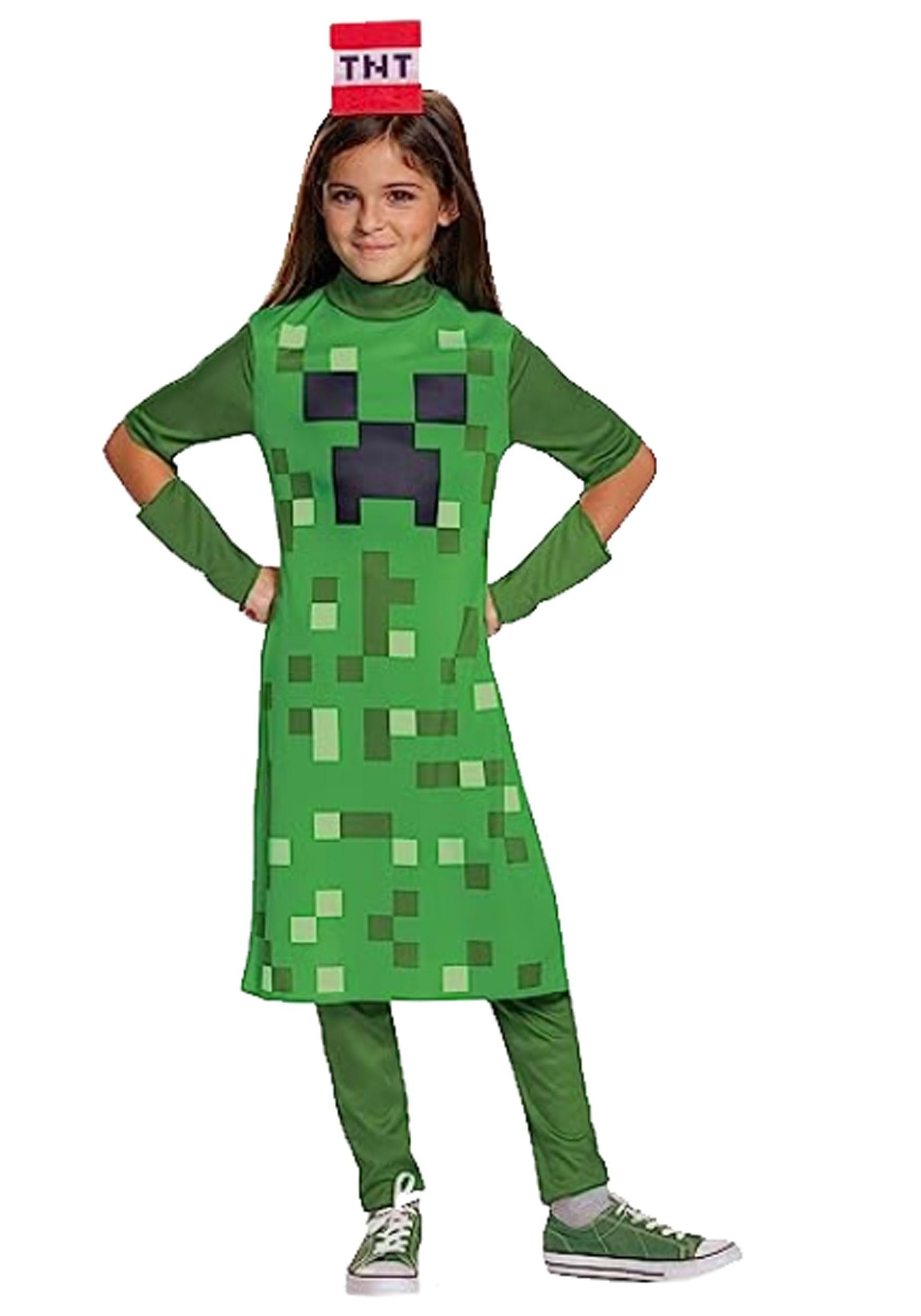 костюм для майнкрафт девочкам