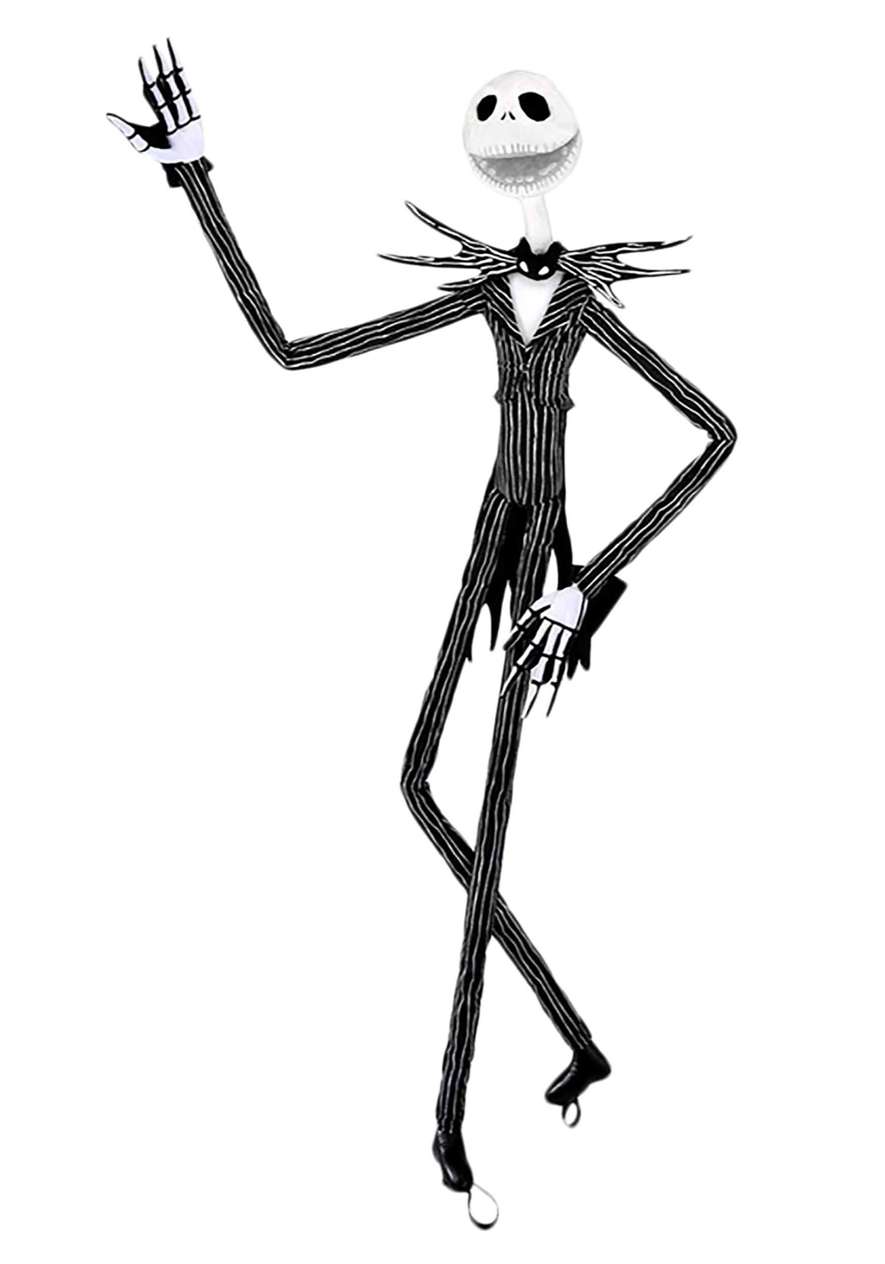 The Nightmare Before Christmas Jack Skellington 64 Tall