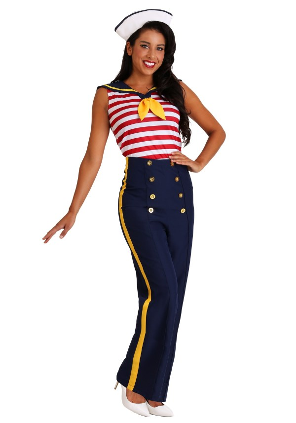 Perfect Pin Up Sailor Costume for Women