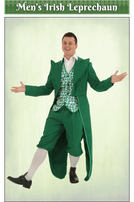 St Patricks Day Costumes Adult Kids Saint Patricks