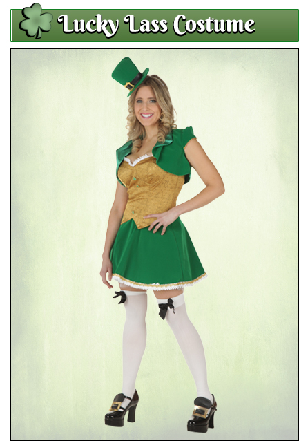 St. Patrick's Day Costumes - Adult, Kids Leprechaun ...